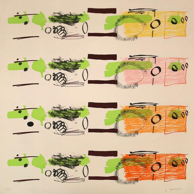 , 'Aspect Syllabary: Stagger,' 2015, Polígrafa Obra Gráfica
