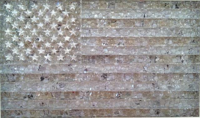 David Datuna, 'Untitled (White Flag)', ca. 2012, Vohn Gallery
