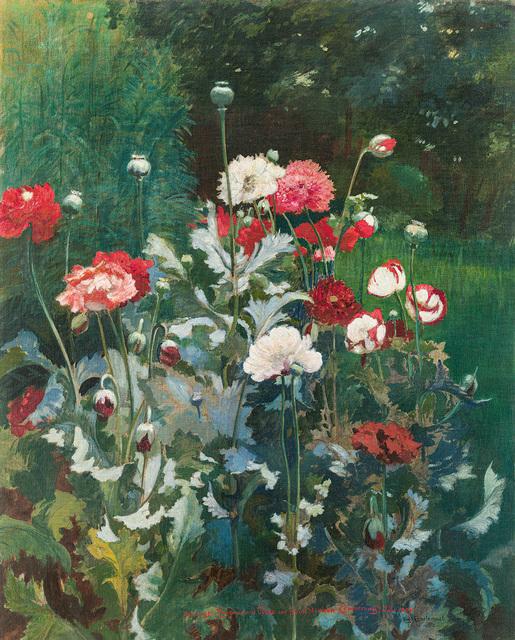Hugo Charlemont, 'Poppies', 1903, Painting, Oil on canvas, Galerie Kovacek & Zetter
