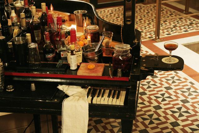 , 'Bar Piano,' 2012, MULHERIN