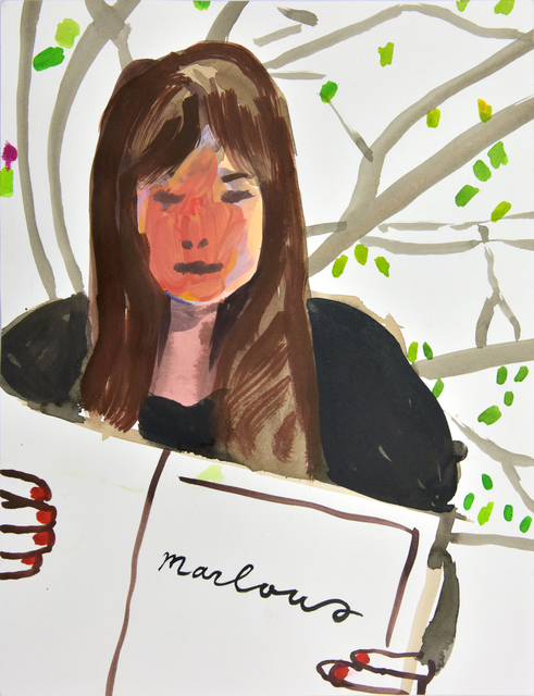 , 'Portrait of Marlous Borm,' 2014, Galerie Kornfeld