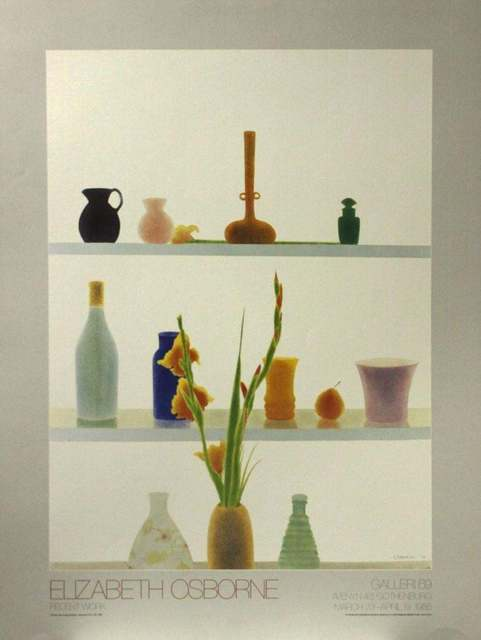 Elizabeth Osborne, 'Still Life with Orange Gladiolas', 1985, The Loft Fine Art