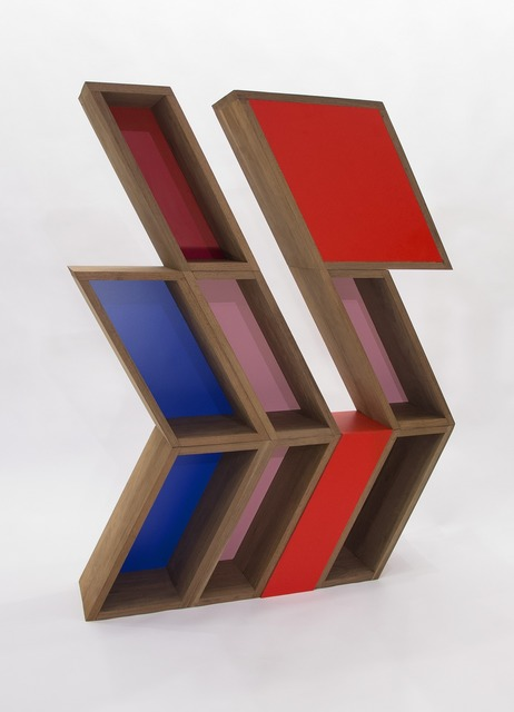 RO/LU, 'Nature / Nurture (After Otto Herbert Hajek)', 2012, Design/Decorative Art, Walnut, Laminate, Patrick Parrish Gallery