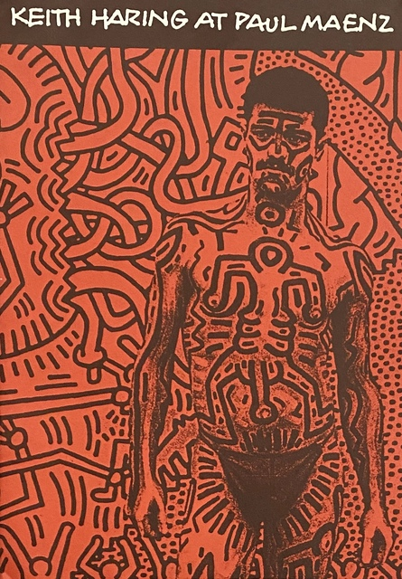 Keith Haring, 'Keith Haring at Paul Maenz 1984', 1984, Ephemera or Merchandise, Offset printed exhibition catalog, Lot 180