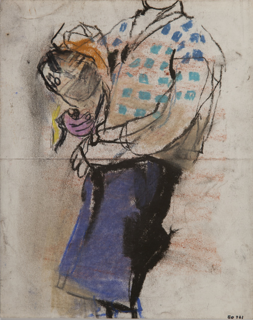 , 'The Checked Jersey,' 1958-1960, The Scottish Gallery