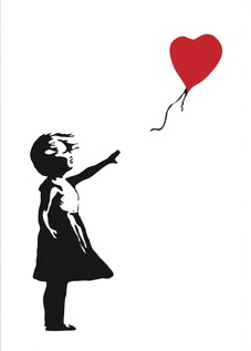 Banksy, 'Girl with Balloon', 2019, Print, Screenprint, Curator Style