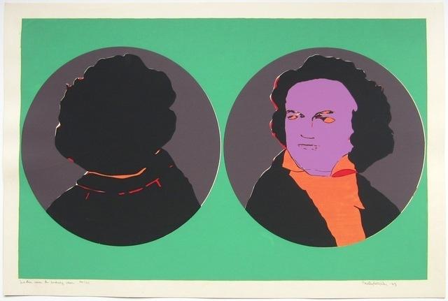 Beatriz González, 'Ludwig van Beethoven,' 1973, Casas Riegner