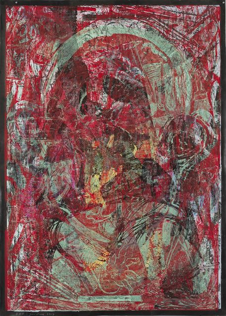 , 'Raspberry Jam all over my Head,' 2017, Templon
