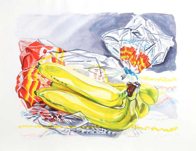 Janet Fish, 'Bag of Bananas', 1996, RoGallery