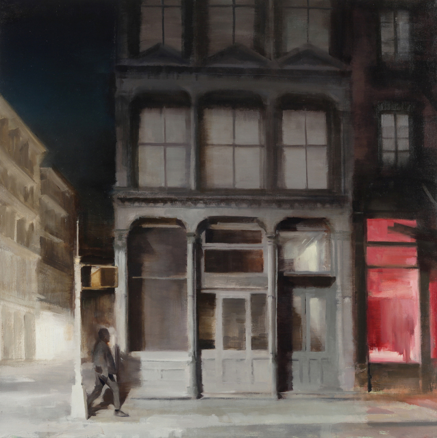 , 'Man on a Street Corner,' 2018, Gallery Henoch