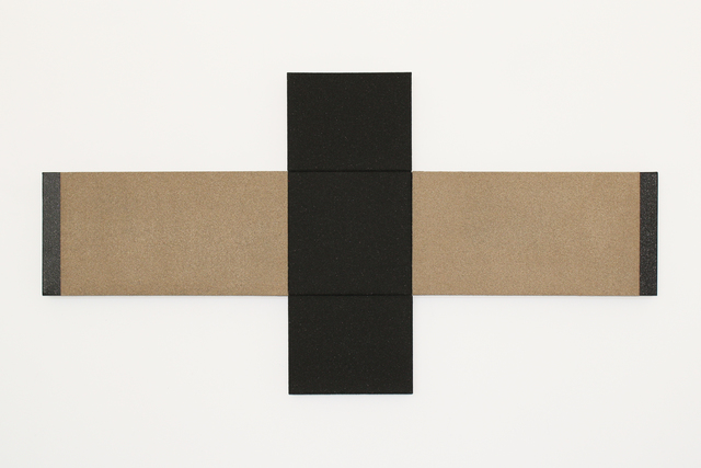 , 'Black painting #44,' 2107, Joshua Tree Art Gallery