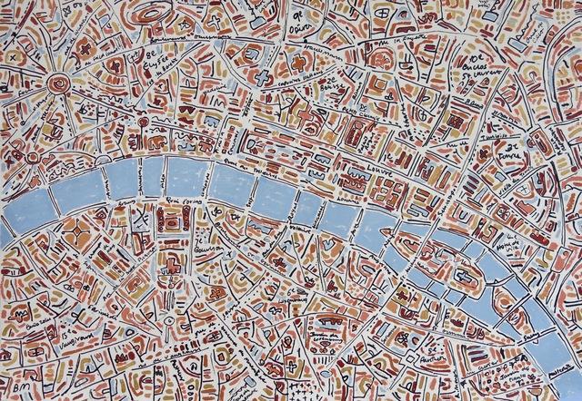 , 'Paris Gold Apricot Terracotta ,' 2018, Rebecca Hossack Art Gallery