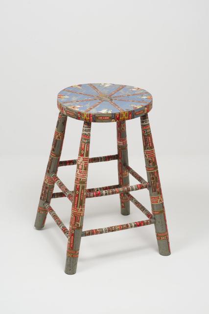 , 'Untitled (Wooden foot stool),' 1920-1960, Fleisher/Ollman