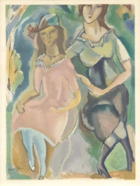 Jules Pascin, 'Femininity', Early 20th Century, Heather James Fine Art