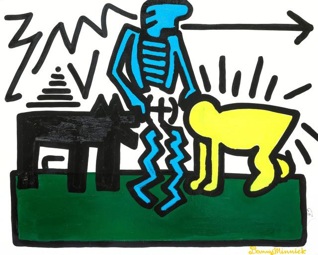 , 'Black Dog ,' 2017, Maddox Gallery