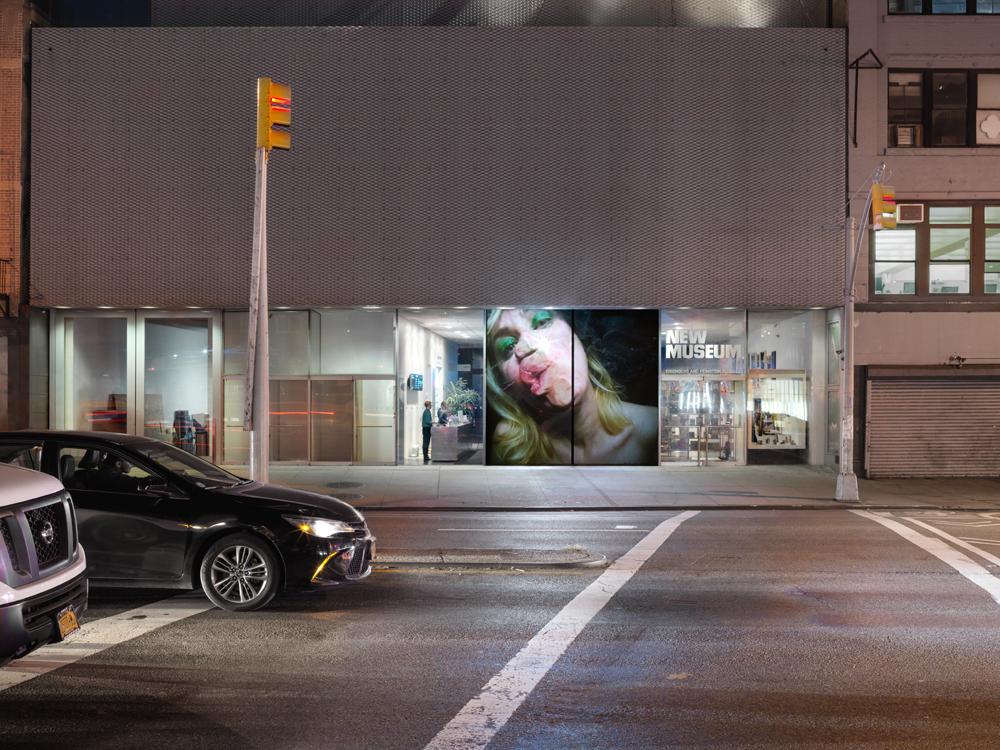 Pipilotti Rist, Open My Glade (Flatten), 2000. © Pipilotti Rist. Single-channel video installation, silent, color; 9:07 min. Courtesy the artist, Hauser & Wirth, and Luhring Augustine. Installation photo: Maris Hutchinson / EPW Studio, courtesy New Museum.