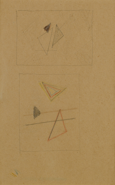, 'Studies for Composition No. 128 & 129 (D58),' 1941, Annely Juda Fine Art