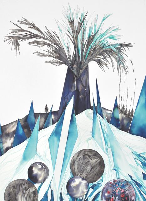 , 'Frozen Eruption,' 2015, Christina Parker Gallery