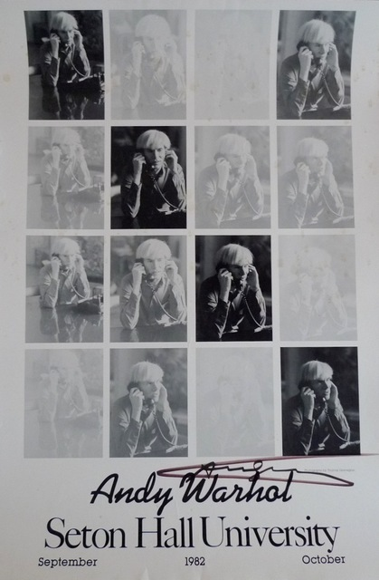 Andy Warhol, 'Seton Hall University', 1982, Ephemera or Merchandise, Bengtsson Fine Art