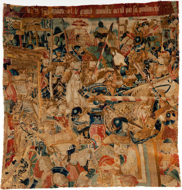 , 'Theseus Tapestry,' ca. 15th century, Davis Museum