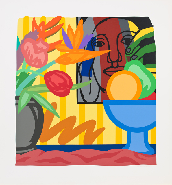 Tom Wesselmann, 'Mixed Bouquet with Leger', 1993, Galerie de Bellefeuille