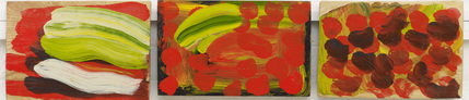 Howard Hodgkin, 'Indian Veg,' 2013-2014, Gagosian Gallery