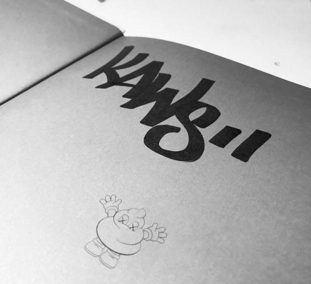 "KAWS, '""KAWS"", 2010, Signed / Tagged (rare without dedication), 1st Edition, MINT', 2010, VINCE fine arts/ephemera"