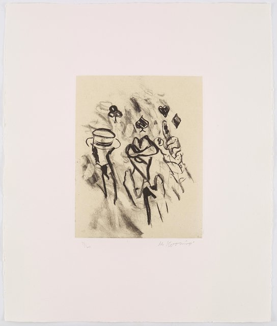 , 'Seventeen Lithographs for Frank O'Hara: One plate,' 1988, Upsilon Gallery