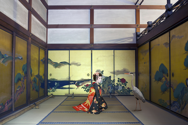 , 'Mono No Aware , Shunko - in Temple , Kyoto,' 2015, Galerie Les filles du calvaire