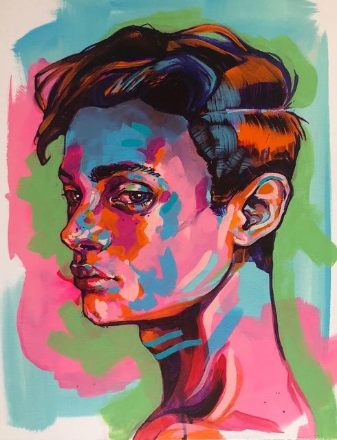 , 'Leslie,' 2018, Art Attack SF