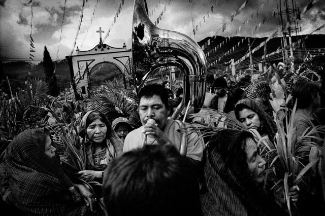 , 'Villagers celebrate their town's Saint's Day. San Miguel Cuevas, Mexico.,' 2006, Anastasia Photo