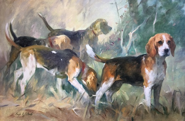 , 'Beagles on the Scent,' 2017, Dog & Horse Fine Art