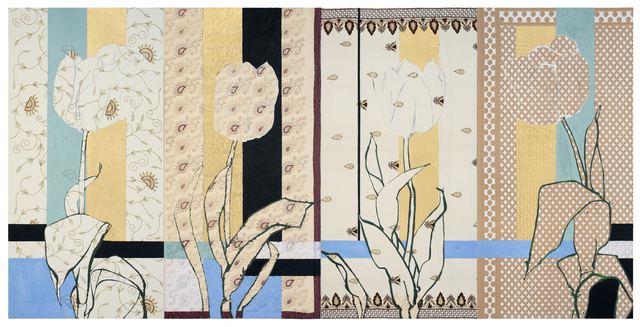, 'Mughal Tulips,' 2018, DC Moore Gallery