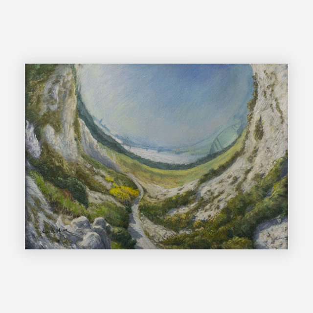 Olivier O. Olivier, 'Paysage avec Canal', 1986, Capsule Gallery Auction