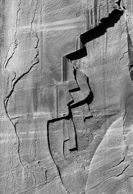 Larry Garmezy, 'Faces of the Anasazi - Abstract Landscape photography, Natural Abstraction, Patterns, Cliff face, Colorado Plateau, Canyon de Chelly, Arizona', 2019, Archway Gallery