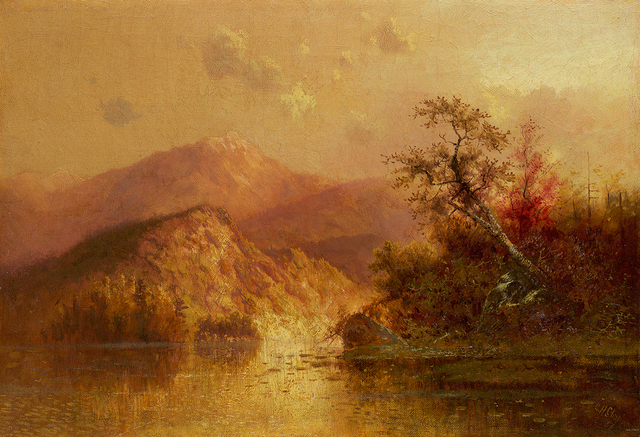, 'Autumn Landscape,' 1877, Questroyal Fine Art
