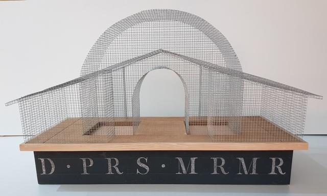 ", 'Le MUR ""les barrières d'octroi"",' 2017, Galerie Marie-Robin"