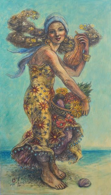 """Alicia de la Campa, '""""A Orillas del Mar"""" (Seaside)', 2018, Arte1010"""