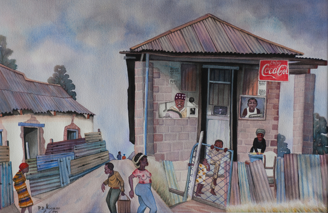 , 'Old Spaza Shop   ,' 1995, EBONY/CURATED