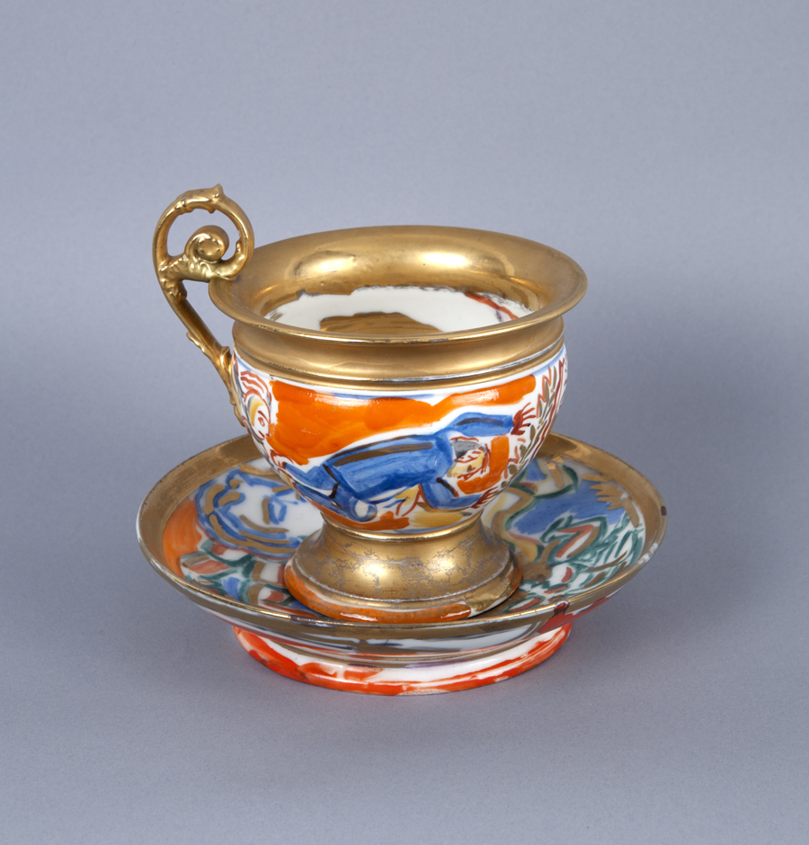 Untitled (Cup and Saucer) A la Manufacture de Sevres Series