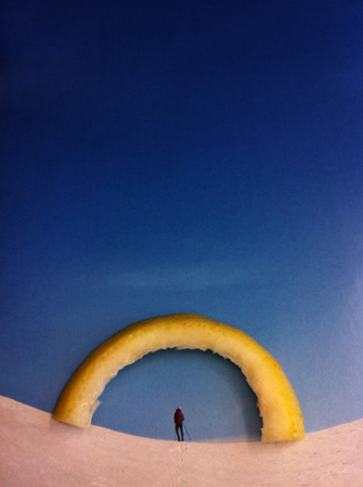 "Nina Katchadourian, 'Lemon Arch (""Seat Assignment"" project, 2010--ongoing)', 2015, Catharine Clark Gallery"