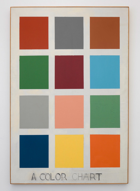 , 'A Color Chart,' 1963, Richard Gray Gallery