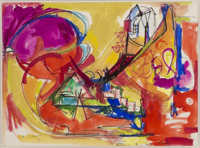 Hans Hofmann, 'Untitled', 1943, Reyes Contemporary Art