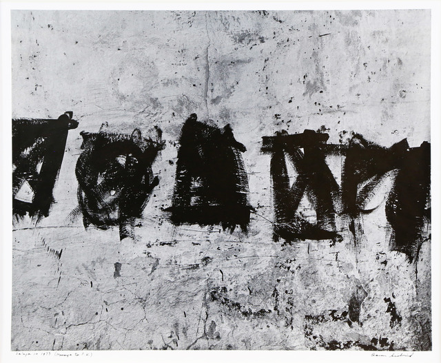 , 'Jalapa 10 (Homage to Franz Kline),' 1973, James Barron Art