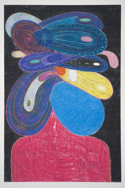 , 'Bluebird,' 2017, Manneken Press