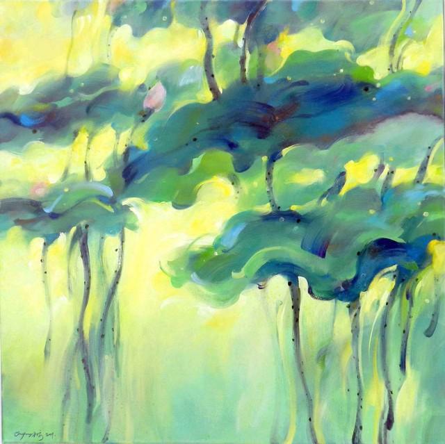 , 'Lotus in Spring,' 2011, BAM Gallery