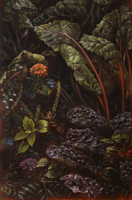 , 'Chard and cabbage ,' 2018, CHOI&LAGER