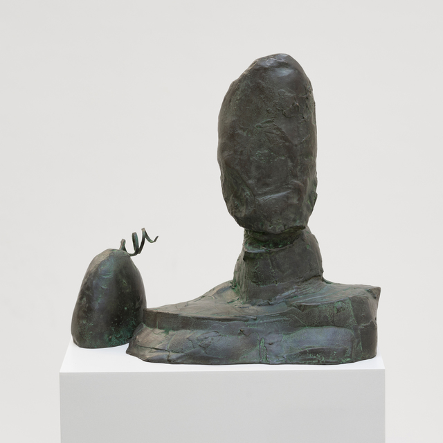 João Maria Gusmão & Pedro Paiva, 'Sculpture with Dog', 2018, Sculpture, Bronze, Fortes D'Aloia & Gabriel