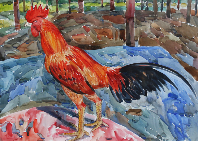 , 'Red Rooster,' , Yavuz Gallery
