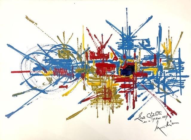 , 'Composition pour Charlotte,' 1987, Arts et Autographes